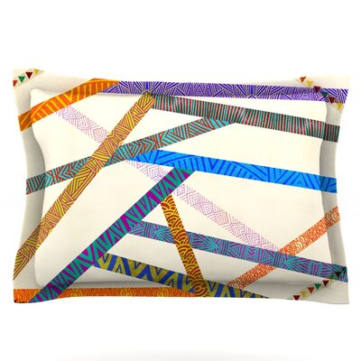 Unparalleled by Pom Graphic Design Featherweight Pillow Sham Size: Queen, Fabric: Cotton