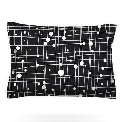 Woven Web Mono by Budi Kwan Woven Pillow Sham Size: Queen