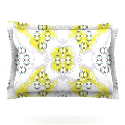 Vernal Season by Miranda Mol Featherweight Pillow Sham Size: King, Fabric: Cotton