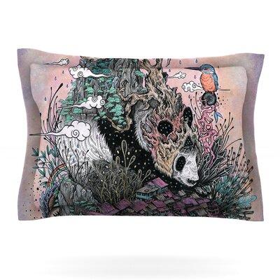 Mat Miller Land of The Sleeping Giant PandaFeatherweight Sham Size: Standard, Fabric: Cotton