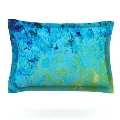 True Reflection by Ebi Emporium Featherweight Pillow Sham Size: Queen, Fabric: Cotton