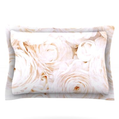 Blessed by Heidi Jennings Featherweight Pillow Sham Size: Queen, Fabric: Cotton