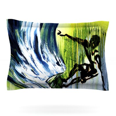 Greenroom by Josh Serafin Featherweight Pillow Sham Size: King, Fabric: Cotton