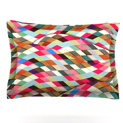 Adored by Danny Ivan Featherweight Pillow Sham Size: Queen, Fabric: Cotton