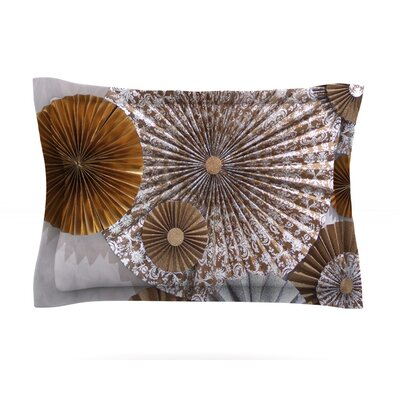 Venice by Heidi Jennings Featherweight Pillow Sham Size: Queen, Fabric: Cotton