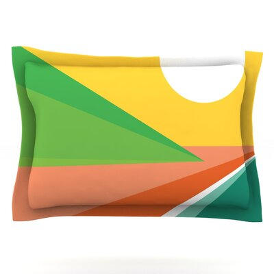 Beach by Budi Kwan Featherweight Pillow Sham Size: Queen, Fabric: Cotton
