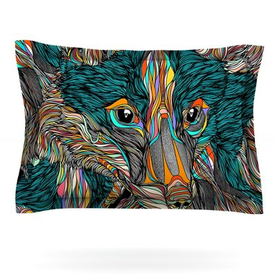 Fox by Danny Ivan Featherweight Pillow Sham Size: King, Fabric: Cotton