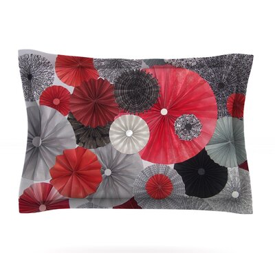 Kyoto by Heidi Jennings Featherweight Pillow Sham Size: King, Fabric: Cotton