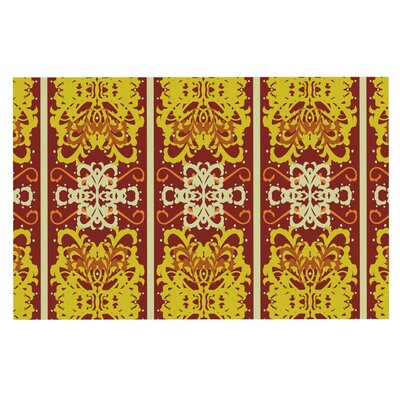 Mydeas Butterfly Dog Damask Doormat