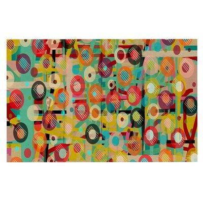 Bri Buckley Gift Wrapped Crazy Abstract Decorative Doormat