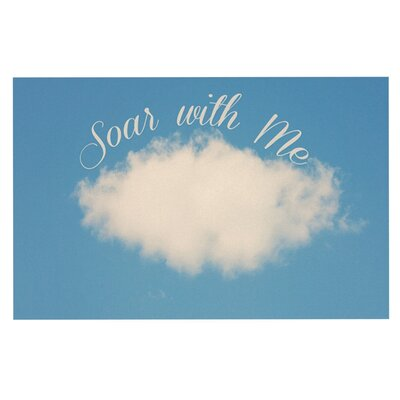 Beth Engel Soar with Me Cloud Doormat
