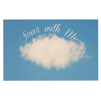 Beth Engel Soar with Me Cloud Doormat