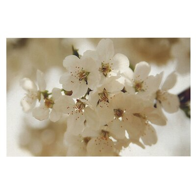 Angie Turner Flowering Pear Petals Doormat