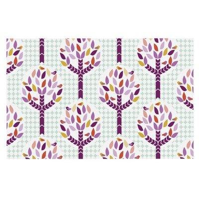 Pellerina Design Orchid Spring Tree Abstract Doormat