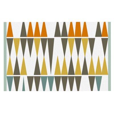 Pellerina Design Diamond Kilim Triangles Doormat