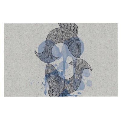 Belinda Gillies Pisces Doormat