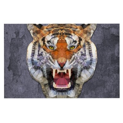 Ancello Abstract Tiger Doormat