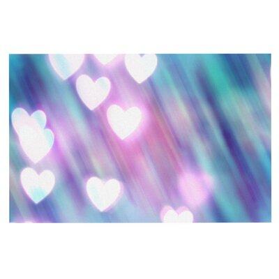 Beth Engel Your Love is Sweet Like Candy Heart Doormat