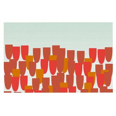 Pellerina Design Sunrise Poppies Doormat