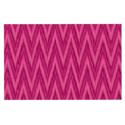 Amanda Lane Berry Chevron Doormat