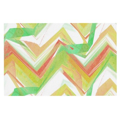 Alison Coxon Summer Party Chevron Doormat