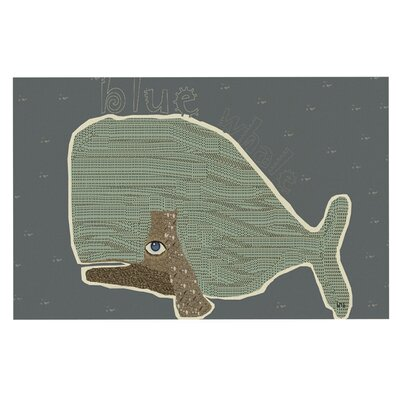 Bri Buckley Whale Decorative Doormat