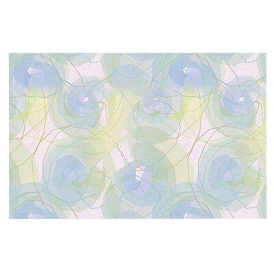 Alison Coxon 'Paper Flower' Doormat