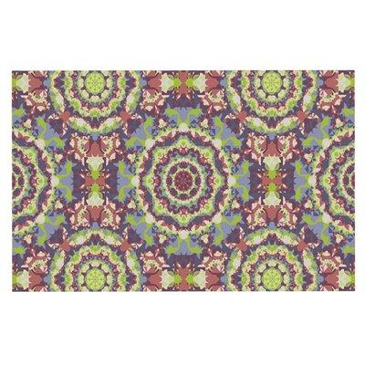 Allison Soupcoff Plum Lace Doormat