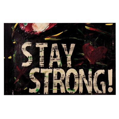 Alexa Nicole Stay Strong Doormat