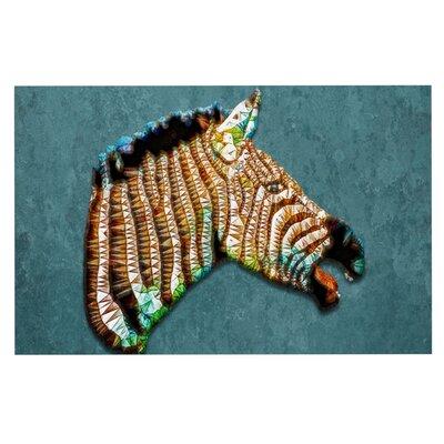 Ancello Laughing Zebra Doormat