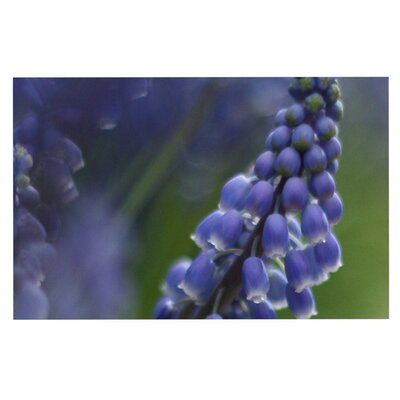 Angie Turner Grape Hyacinth Doormat