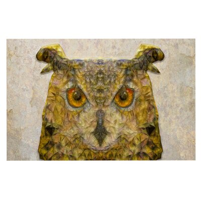 Ancello Abstract Owl Doormat