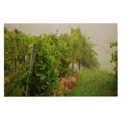 Angie Turner Grape Vines Foggy Doormat