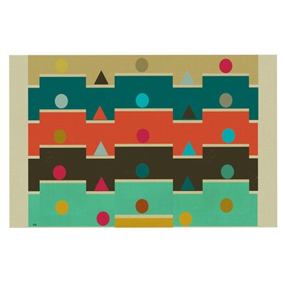 Bri Buckley Modern Graphics Geometry Decorative Doormat
