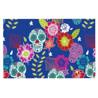 Anneline Sophia Day of the Dead Aztec Doormat