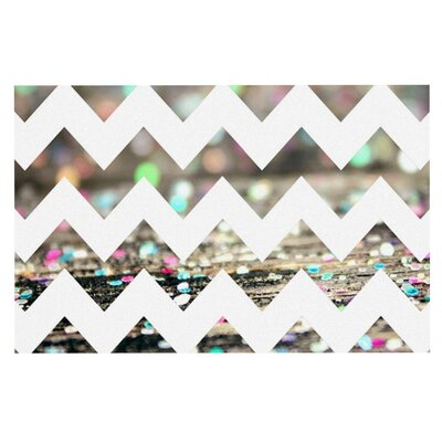 Beth Engel After Party Chevron Doormat