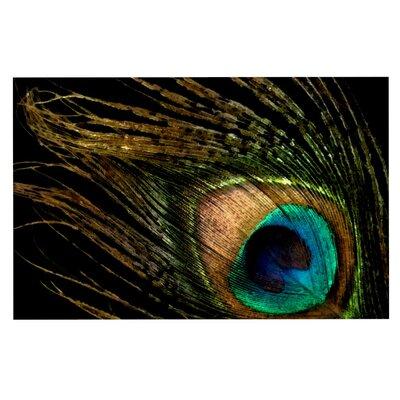 Alison Coxon Peacock Doormat