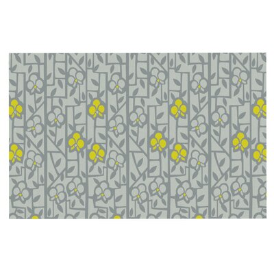 Allison Beilke Deco Orchids Doormat