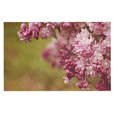 Angie Turner Lilacs Flower Doormat