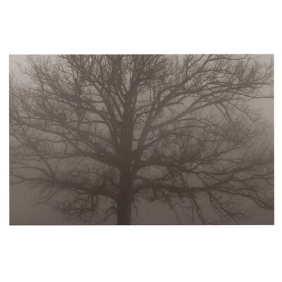 Angie Turner Lonely Tree Fog Doormat