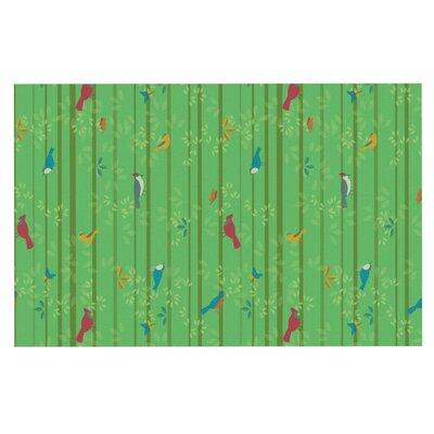 Allison Beilke Hello Birdies Doormat