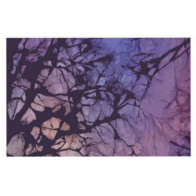 Alison Coxon Violet Skies Doormat