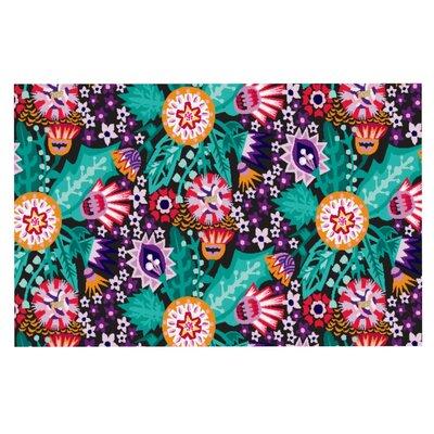 Agnes Schugardt Folk Meadow Doormat