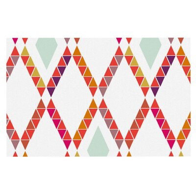 Pellerina Design Aztec Diamonds Geometric Doormat