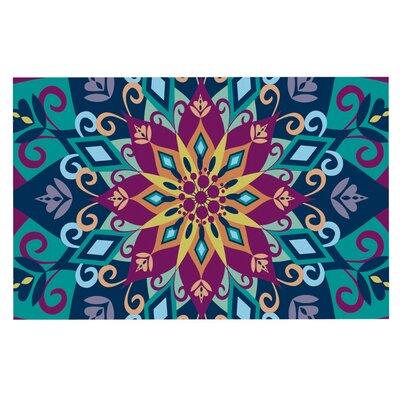 Amanda Lane Blooming Mandala Doormat