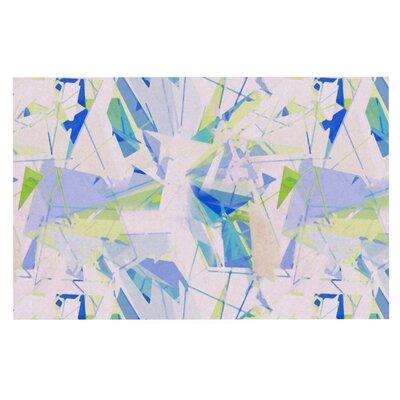 Alison Coxon Shatter Doormat Color: Blue