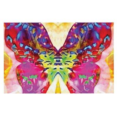 Anne LaBrie Butterfly Spirit Doormat