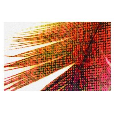 Alison Coxon Feather Pop Doormat