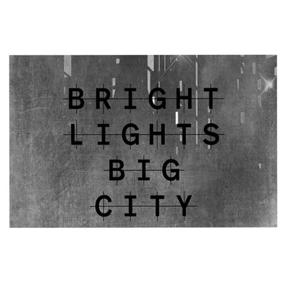 Alison Coxon Bright Lights Dark City Doormat