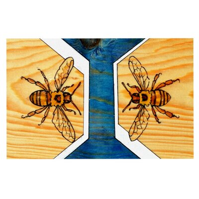 Brittany Guarino Bees Decorative Doormat